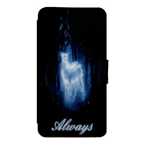 Harry Potter - Always - Leather Flip Phone Case Cover for iPhone & Samsung D14