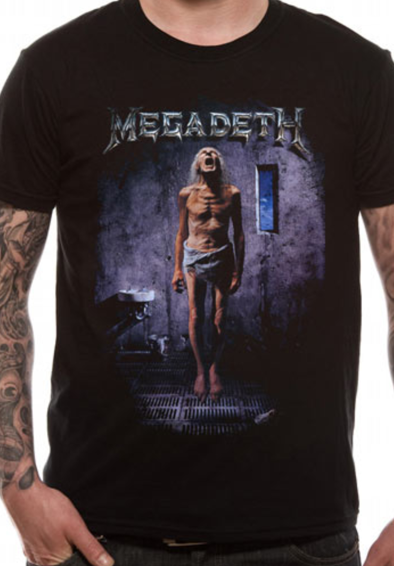 aaaaf4fd2 Megadeth Countdown to Extinction Heavy Thrash Metal Rock Official Tee T- Shirt