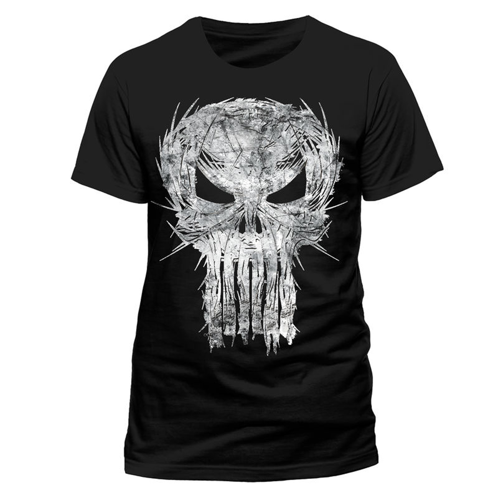 Men/'s Printed Punisher T Shirts Tee Top Skull Frank Castle New