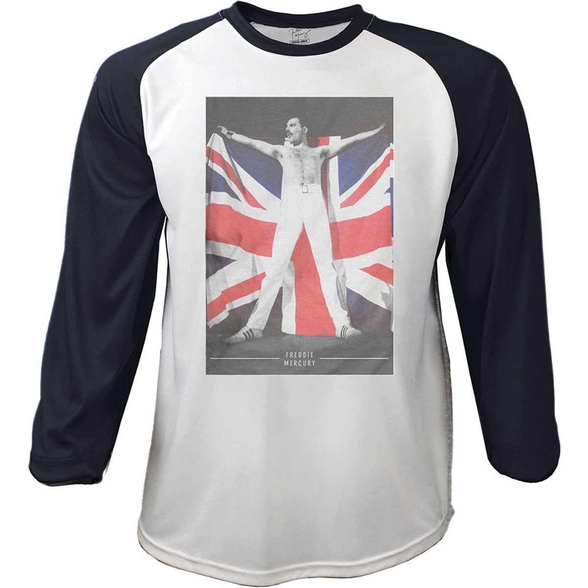 Queen /'Union Jack/' T-Shirt NEW /& OFFICIAL!