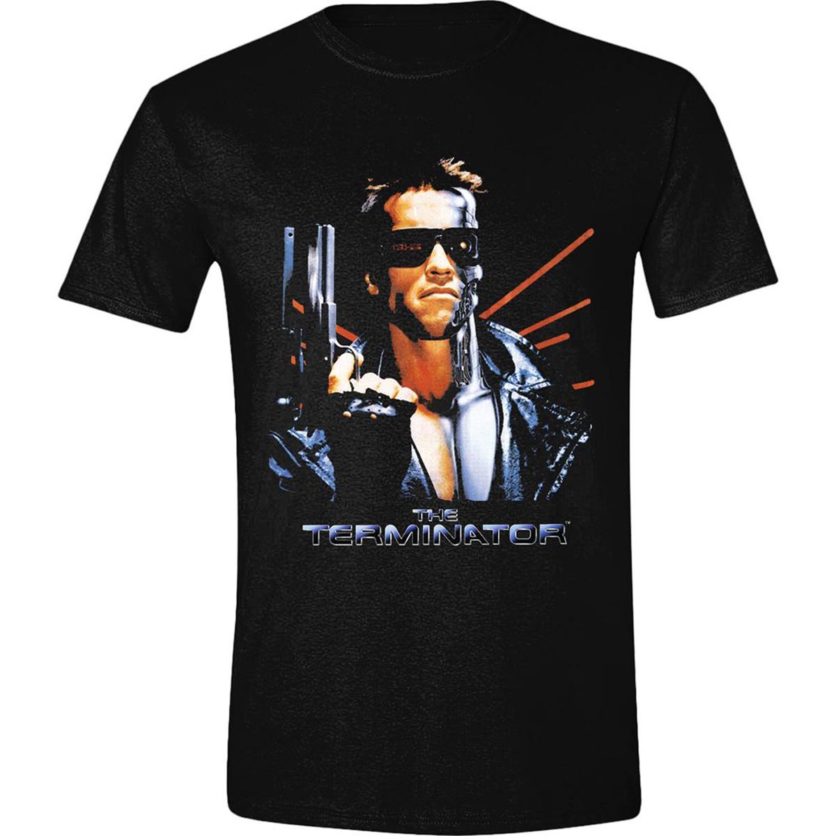 Terminator 2 Arnold Schwarzenegger Arnie Official Tee T-Shirt Mens Unisex