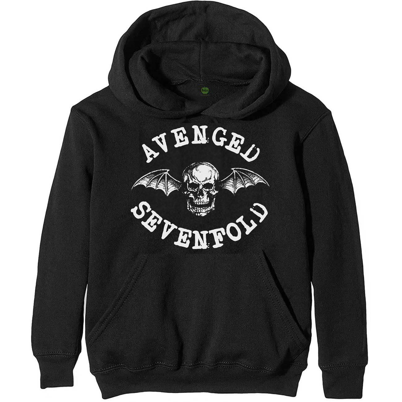 Avenged Sevenfold /'Death Bat Logo/' Pull Over Hoodie NEW /& OFFICIAL!
