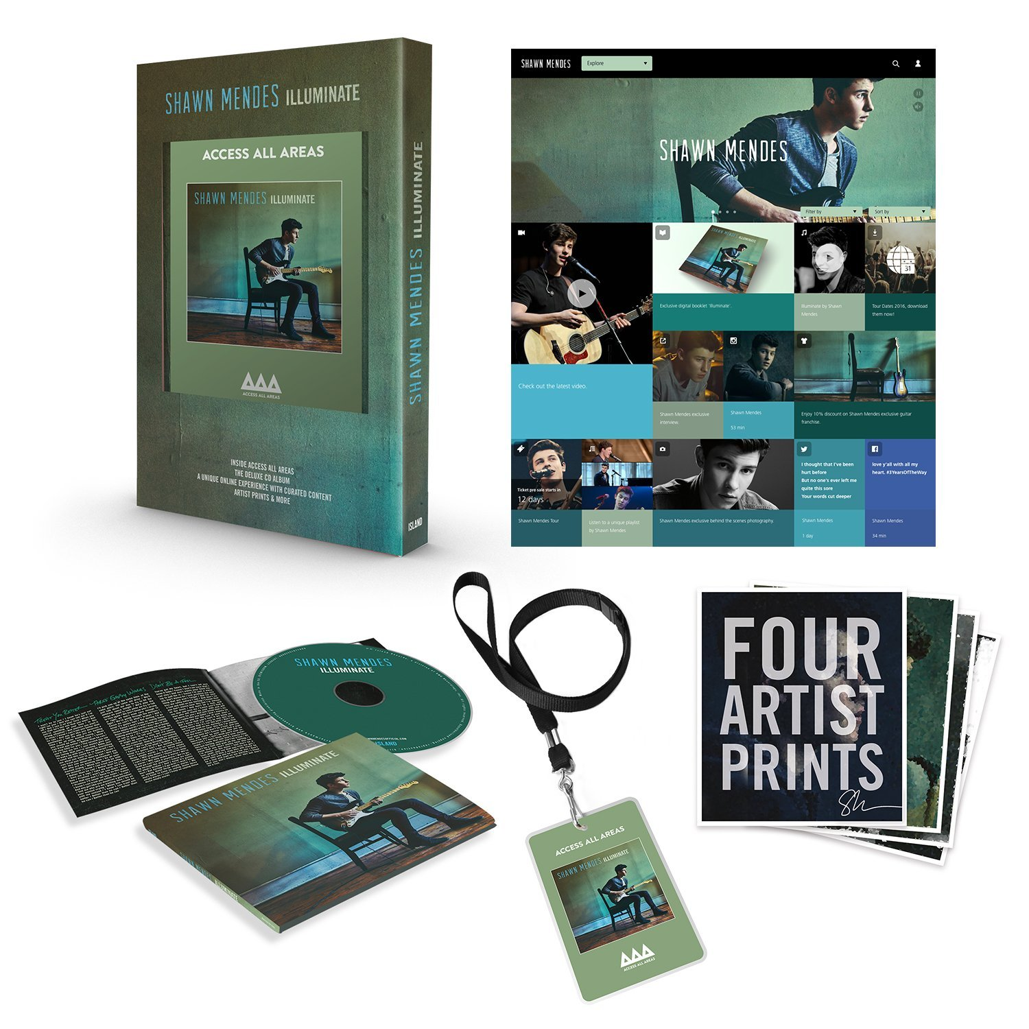 Illuminate Deluxe Shawn Mendes: SHAWN MENDES Illuminate CD Special Edition BRAND NEW 2016