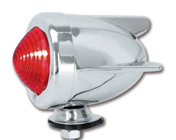 Pair Bullet Turn Signals Brake Light Chrome Custom 2FASTMOTO Dual Filament Honda