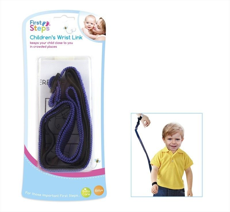 Brand New Children Child Kid Wrist Link Baby Toddler Safety Rein Harness Straps