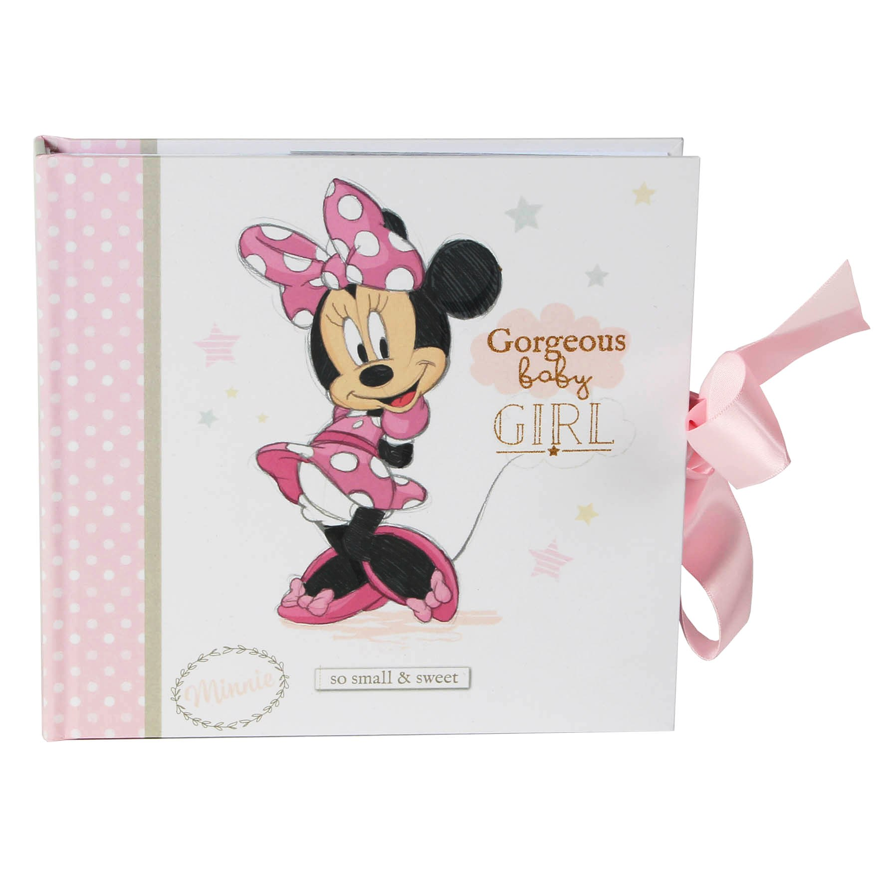 Disney Baby Magical Beginnings Photo Album Minnie Mouse Baby Girl
