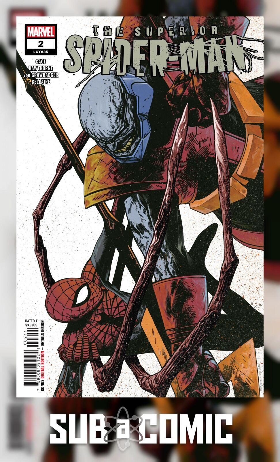 TRAVIS CHAREST MAIN COVER MARVEL COMICS//2019 SUPERIOR SPIDER-MAN #4