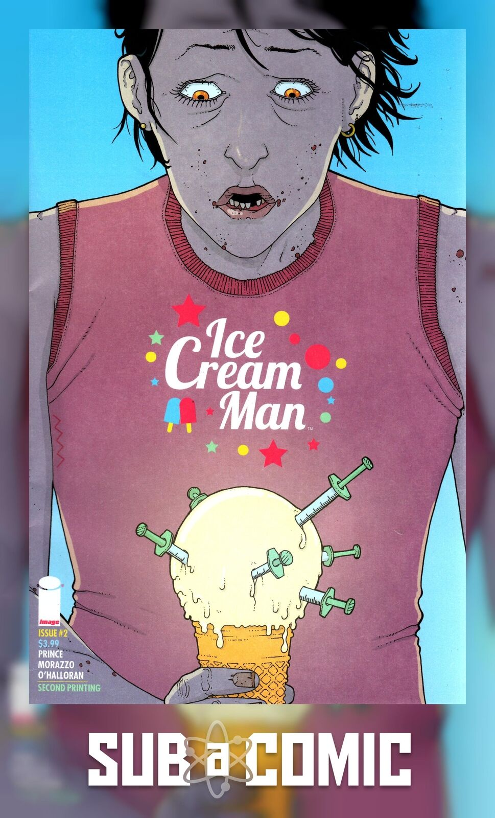 ICE CREAM MAN #7 STANDARD COVER A STOCK IMAGE