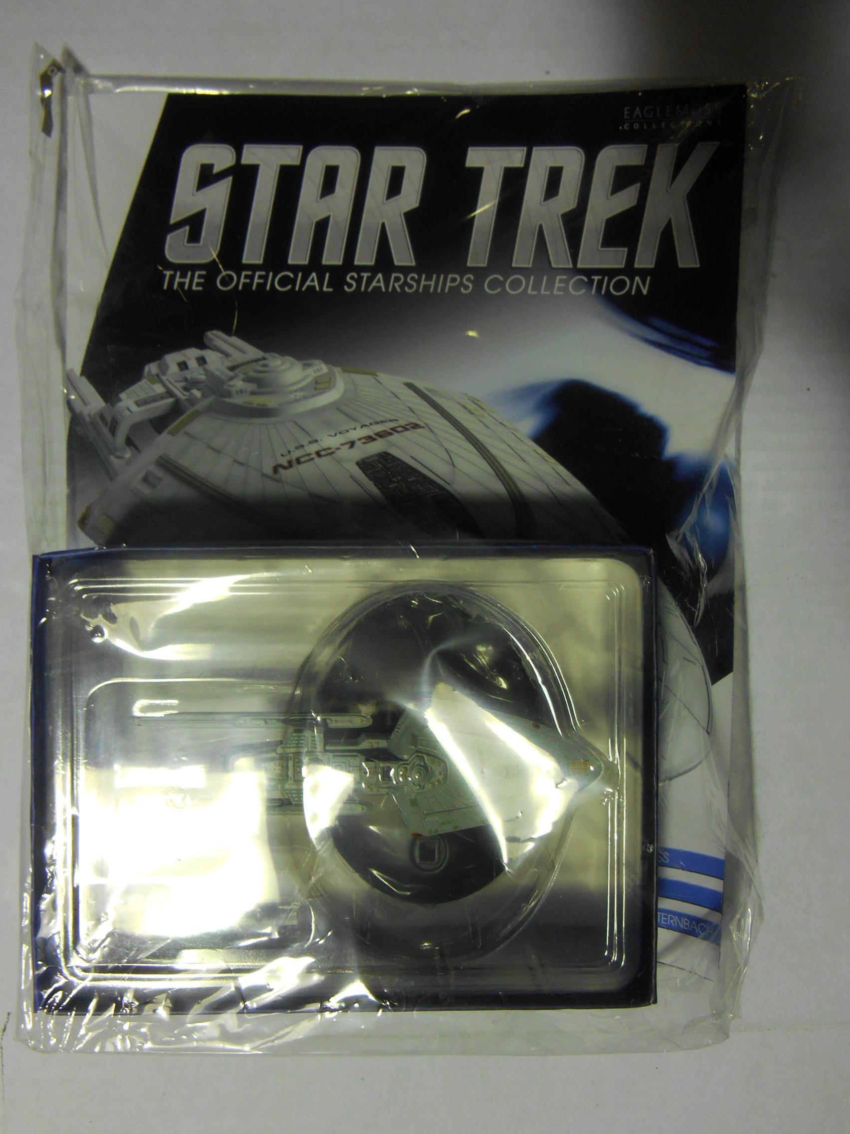 Star Trek U.S.S Voyager Sternbach Concept Model Ship Bonus Edition 11 Eaglemoss