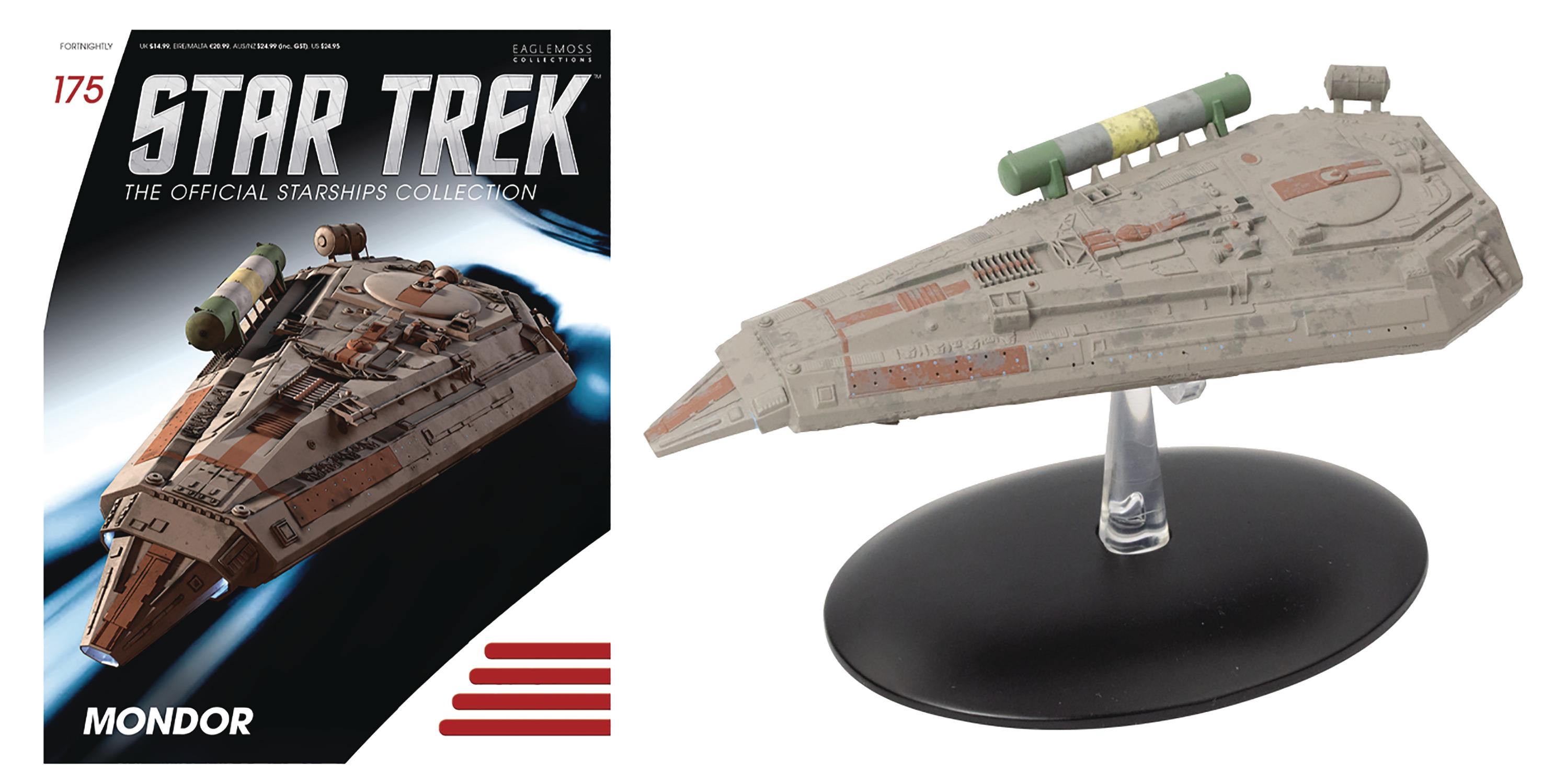 STAR TREK Official Starships Magazine #172 Xindi Insectoid Scout Ship Eaglemoss
