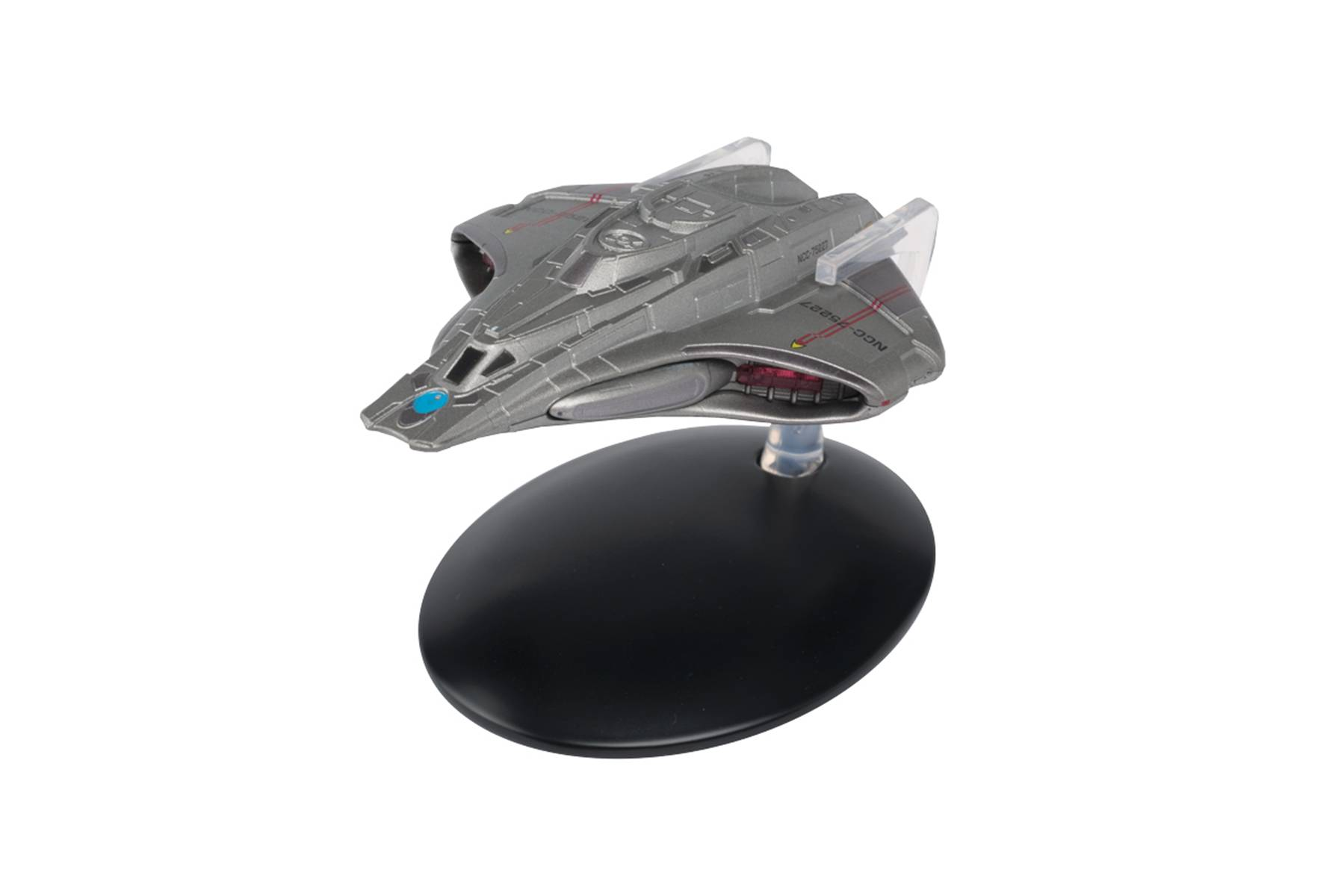 Star Trek Federation Mission Scout Ship Model with Magazine #80 by Eaglemoss