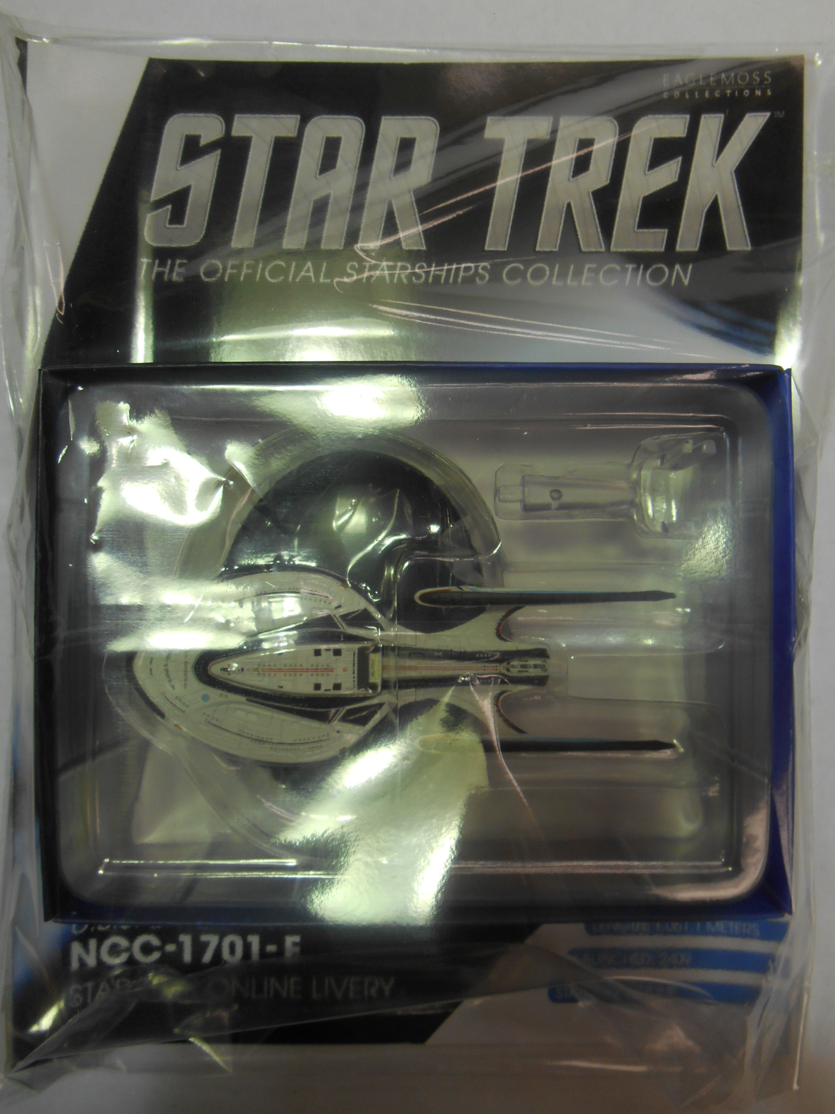Konami Star Trek USS Enterprise NCC-1701-A  RARE    US SELLER