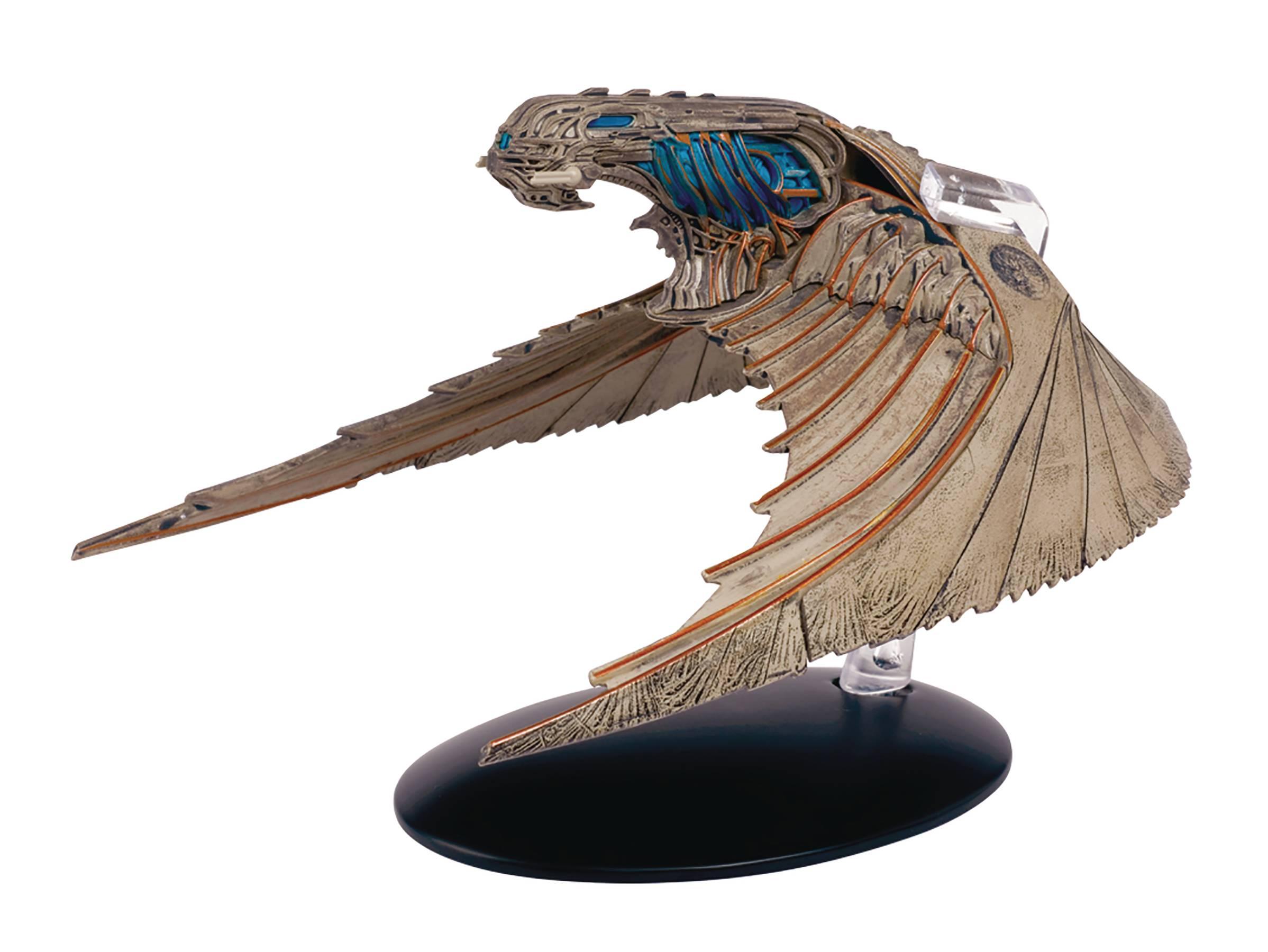 Klingon Bird-of-Prey Starship Model with Magazine #4 by E Discovery Star Trek